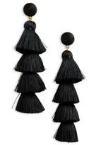 BaubleBar Women's Antonella Tassel Fringe Earrings