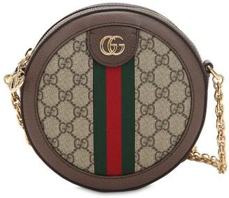 Gucci Mini Ophidia Gg Supreme Round Bag