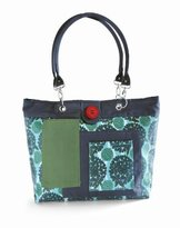 2 Red Hens Rooster Diaper Bag, Peacock Mum by