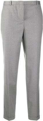 Fabiana Filippi High-Rise Cropped Tailored Trousers