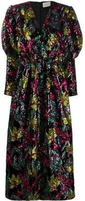 Giuseppe di Morabito Sequinned Floral Dress