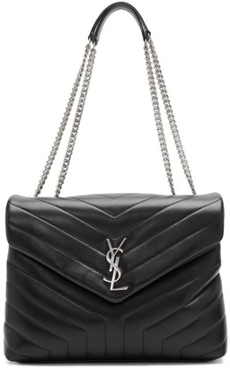 Saint Laurent Black Medium Loulou Bag