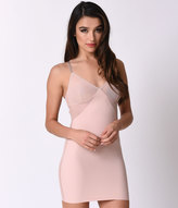 Spanx Blush Pink & Nude Colorblock Smooth Slip