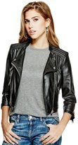 GUESS Brid Faux-Leather Jacket