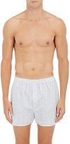Sunspel Men's Geometric-Print Cotton Boxers