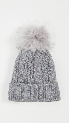 Hat Attack Classic Cable Pom Hat