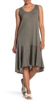 Caslon Drop Waist Midi Dress (Regular & Petite)