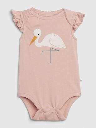 Gap Baby Organic Cotton Graphic Bodysuit