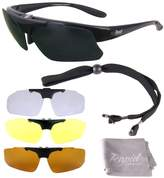Rapid Eyewear Pro Plus Mens and Womens Rx SPORTS SUNGLASSES FRAME with Interchangeable Lenses