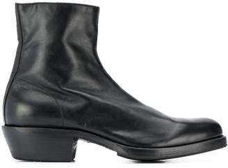 Premiata side zip ankle boots