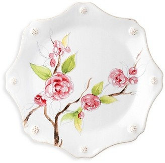 Juliska Berry & Thread Floral Sketch Camellia Dessert/Salad Plate