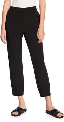 Eileen Fisher Plus Size Sleek Recycled Polyester Track Pants
