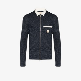 Prévu Fleck Zip-Up Shirt Jacket