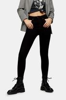 Topshop Pure Black Jamie Jeans