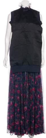 Sacai Silk Maxi Dress w/ Tags