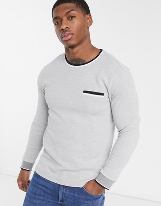 Burton Menswear jumper in grey