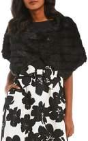 Tahari ASL Faux Fur Wrap