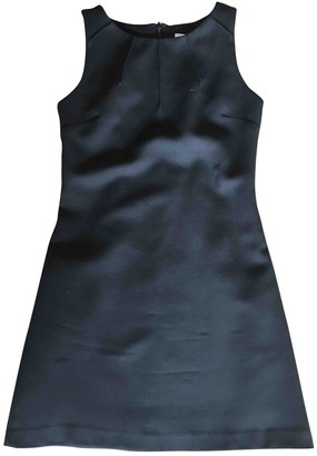 Barneys New York Black Wool Dress for Women