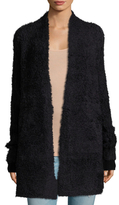 Inhabit Furry Long Cardigan