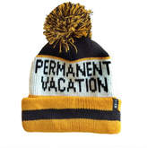 TINY WHALES Permanent Vacation Beanie