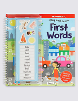 Marks and Spencer Magnetic Play & Learn First Words Book