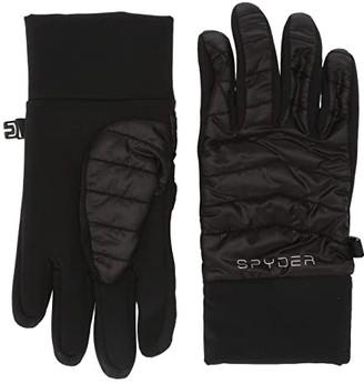 Spyder Glissade Hybrid (Little Kids/Big Kids) (Black) Extreme Cold Weather Gloves