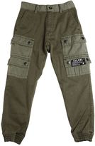 Diesel Stretch Cotton Gabardine Cargo Pants