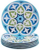 Certified International Barcelona by Jennifer Brinley 6-pc. Melamine Salad Plate Set