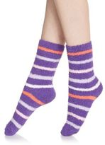 Ellen Tracy Fuzzy Mid-Calf Socks Set