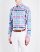 Polo Ralph Lauren Standard-fit Check-print Cotton Shirt