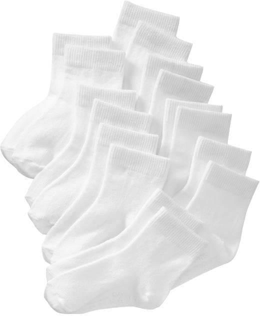 Old Navy Crew Socks 8-Pack For Toddler & Baby
