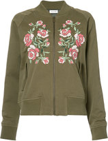 Anine Bing embroidered bomber jacket - women - Cotton/Viscose - XS