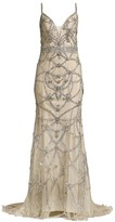 Jovani Beaded Sleeveless Gown