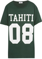 Mikoh Printed Cotton-jersey T-shirt - Dark green