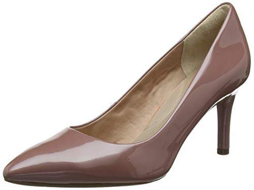 a43666dbb24 Rockport Women's Total Motion 75mm Pointy Toe Plain Pump Closed Heels,4.5  (37.5 EU)