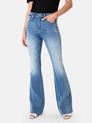 Kancan Ashley High Rise Flare Jeans