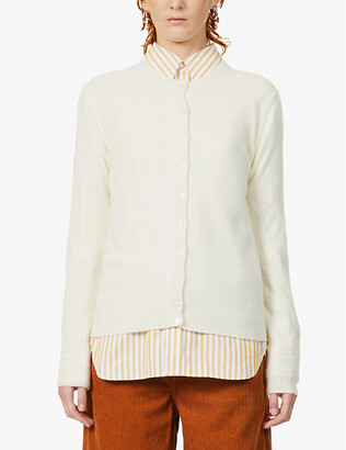 Benetton Buttoned cashmere cardigan