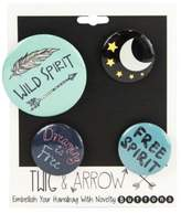 Twig + Arrow Wild and Free Spirit Pins