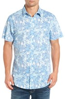 Rodd & Gunn Men's Makarora Regular Fit Print Sport Shirt