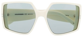 Courrèges Eyewear Oversized-Frame Sunglasses
