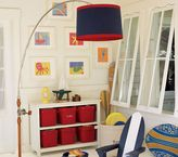Fishing Pole Floor Shade  Lamp
