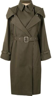 Boyarovskaya Belted Trench Coat