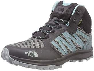 The North Face Women's Litewave Fastpack Mid Gore-Tex High Rise Hiking Boots, Multicolour (TNF Black/Wood Violet), 41.5 EU