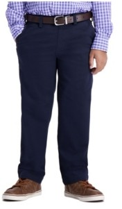 Haggar Little Boys Chino, Reg Fit, Flat Front Pant