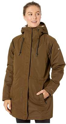 Columbia South Canyontm Sherpa Lined Jacket (Olive Green) Women's Coat