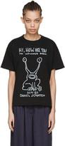 Sacai Black Daniel Johnston T-shirt