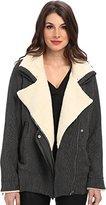 Townsen Women's Zelda Faux Shearling Collar Coat