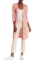 Joseph A Pointelle Duster Cardigan