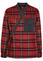 3.1 Phillip Lim Checked Flannel Jacket