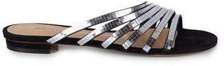 Schutz Dalila Strappy Metallic Slides